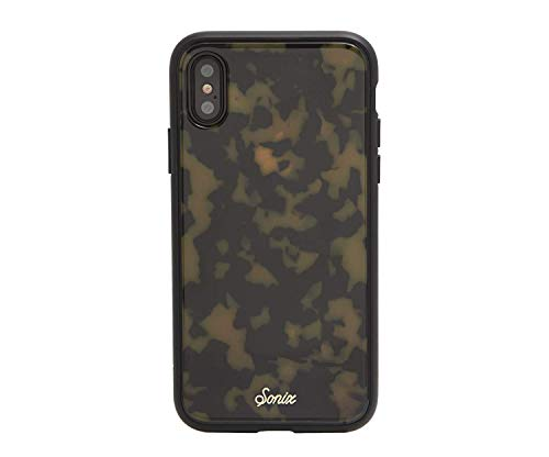 Sonix Brown Tort (Tortoiseshell) Cell Phone Case [Military Drop Test Certified] Protective Luxe Tortoise Shell Series for Apple iPhone X, iPhone Xs ()