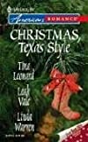 Christmas, Texas Style, Tina Leonard and Leah Vale, 0373750935