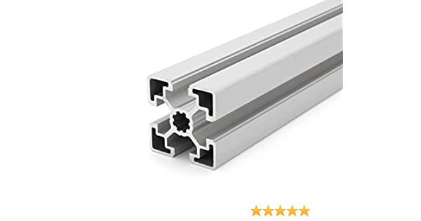 50mm Perfil de aluminio 45 x 90 L 1 tipo B ranura 10 corte de 50-2000 mm 24,00 EUR//m + 0,50 EUR por corte, m/ín. 2,50 EUR
