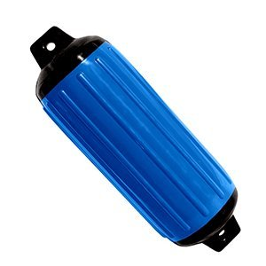 Taylor Made Products 951622  Super Gard Inflatable Vinyl Boat Fender, 6.5 x 22 inch, Pacific Blue