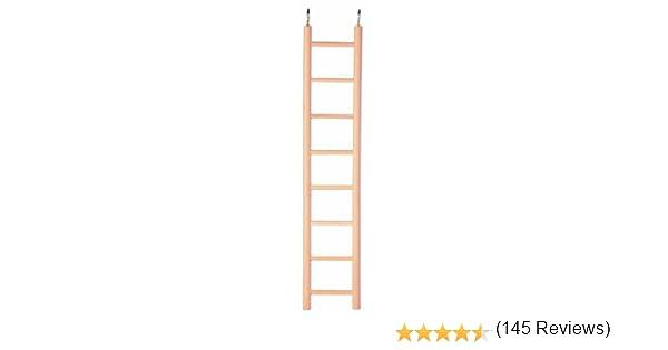 Trixie 5815 Escalera, Madera, 8 Peldaños, 36 cm: Amazon.es: Productos para mascotas