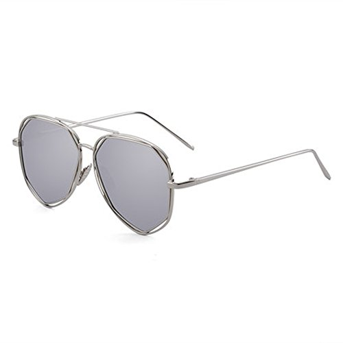 sol Espejo Ultra polarizador mujer de D Gafas para Gafas de para para Gafas retro sol Polarizador hombre poligonal ligero conducir nawxA0q1