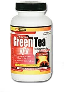 THERMO GREEN TEA CAPSULES, First Natural Thermogenic, 90 capsules