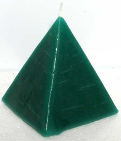 Money Drawing Scented Pyramid Candle (Money Drawing Candle)