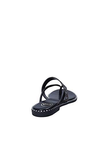Sandalo Donna Exe Nero Infradito 39 G431g816108r HzqwP4