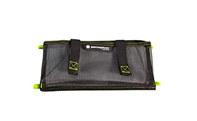 8080047 Perception Kayak Splash One Pocket Organizer - for Kayaks, Grey from Confluence Accessories