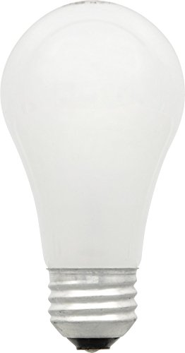 Sylvania 19010 A19 72-Watt Halogen Super Soft White, 2-Pack