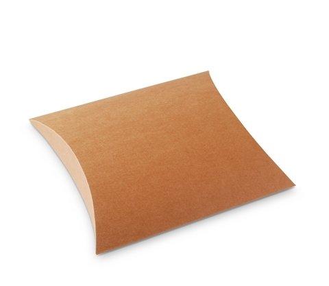 Selfpackaging Cajas para Detalles de Boda en cartulina Kraft. Pack de 50 Unidades - L: Amazon.es: Hogar
