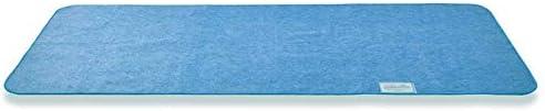 クモリ(Kumori) 除湿シート 洗える 寝具用湿気取りシート 除湿シーツ シリカゲル入り 布団/ベッド/カーペット/収納用 湿気対策 結露対策 防ダニ・防カビ・防臭加工 吸湿 調湿 消臭 除湿マット (セミダブル・110X190cm ブルー)