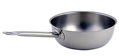 Sitram Profiserie Stainless Steel 2.1-Quart Open Saucier Pan