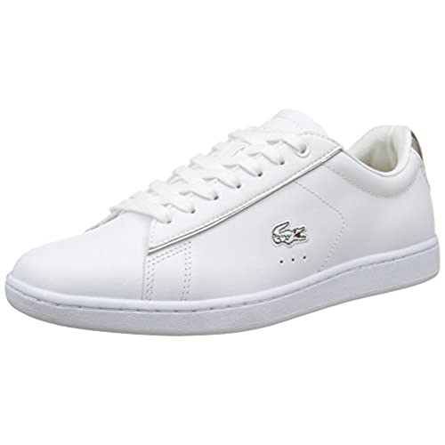 189edf0391 80%OFF Lacoste Carnaby Evo 316 1 Spw Wht, Baskets Basses Femme ...