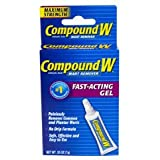 Compound W Compound W Wart Remover Fast-Acting Gel, 0.25 oz