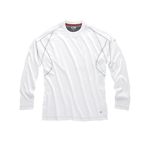Gill Men's UV Long-Sleeve T-Shirt White ()