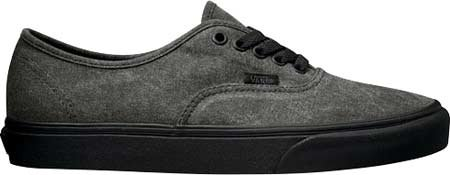 Vans U Authentic - Zapatillas unisex Negro (Washed)