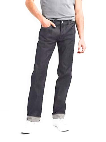 GAP Mens Premium Selvedge Jeans in Straight Fit, RAW ()