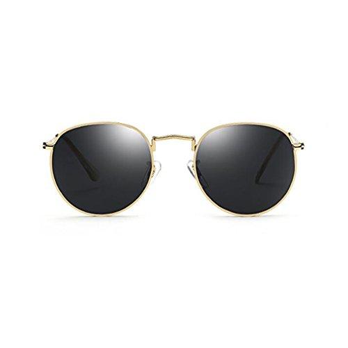 la polarizada Color Viaje HOME Espejo Gafas 1 Vintage UV400 de de Calle de Moda Personalidad Playa Movimiento Anti Reflectante 2 QZ Sol Ultraligero con Latido Decorativo luz Uwfq788xS