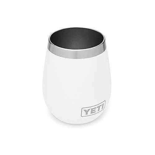 YETI Wine Rambler 10 oz Stainless Steel Vacuum Insulated Tum