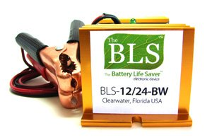 Battery Life Saver BLS-12/24BW 12 and 24 volt Battery System Desulfator Rejuvenator