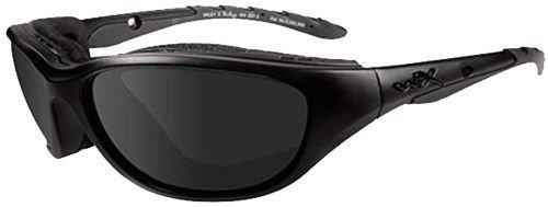 694 Matte - NEW Wiley X Airrage Climate Control Matte Black Frame Grey Lenses Sunglasses 694