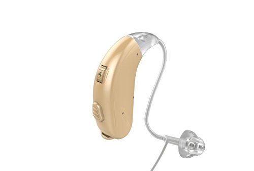 Jungle Care Chime 21 Left Ear Hearing Amplifier Digital Personal Sound Amplification Product (PSAP) FDA Approved to Aid Hearing with Volume Control and Push Button, Beige by Jungle Care
