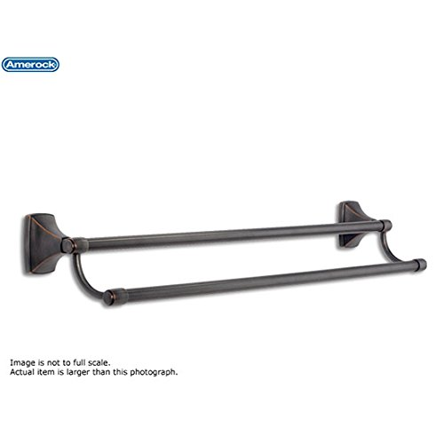 Amerock Clarendon 24 in. (610mm) Towel Bar Oil-Rubbed Bronze - BH26505ORB ()