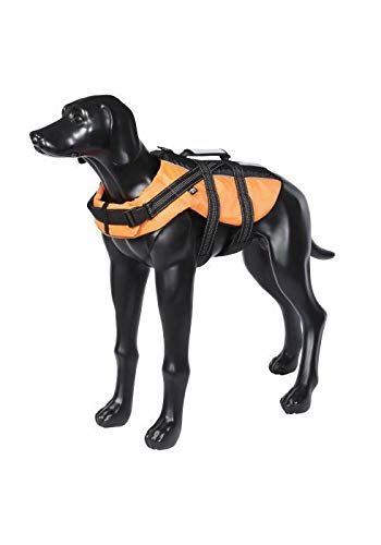 Rukka Safety Lightweight Durable Dog Life Vest Orange