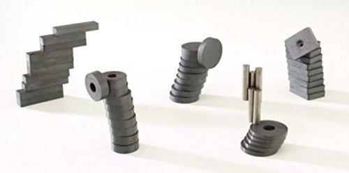 Ajax Scientific Assorted Ceramic Magnet (Bag of 50)