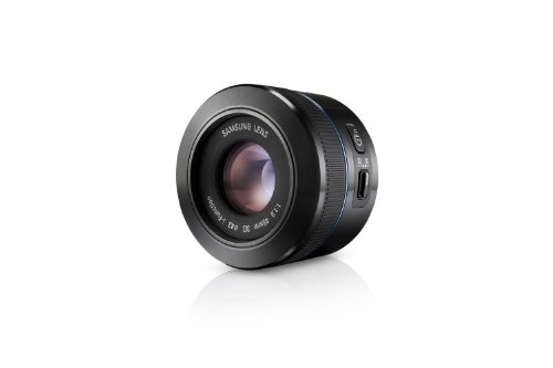 Samsung NX 45mm f/1.8  2D/3D Camera Lens (Black) by Samsung (Image #4)