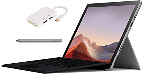 "Microsoft Surface Pro 7 Bundle – 12.3"" Touch - Intel i7-10th Gen 16GB Ram - 512GB SSD – Platinum – Windows Pro - Bundle: Microsoft Surface Pen Platinum, Microsoft Type Cover Black & USB-C Dock"