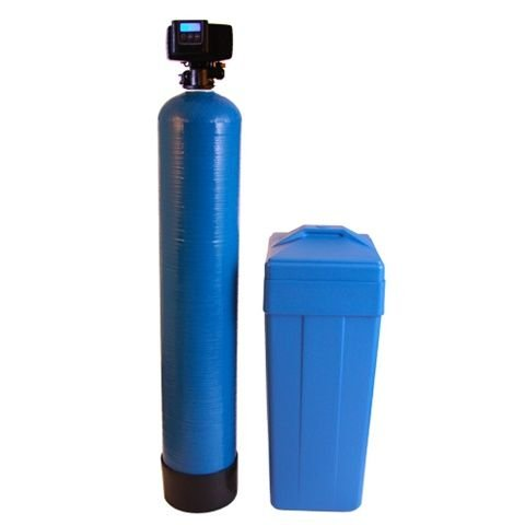 Discount Water Softeners 48,000 Fleck 5600SXT Water Softener, Grains, Blue