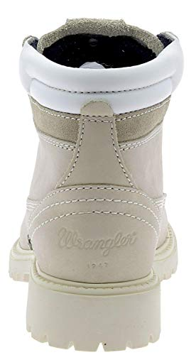 Nabuk Donna Boots Stivaletto Cream Wrangler qZnWHAx