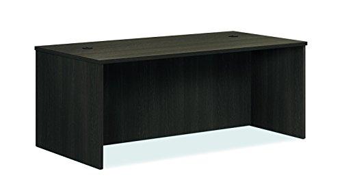 HON BL Laminate Series Office Desk Shell - Rectangular Desk Shell, 72w x 36d x 29h, Espresso (HBL2101) (Desk Corner Custom)