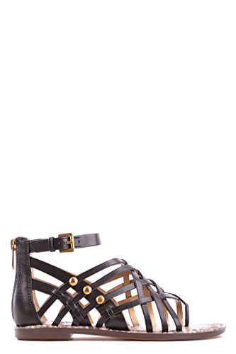 Sam Leather Sandals Women's Edelman MCBI266005O Black Cqqx01fwF