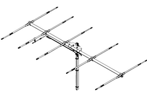 Sirio Antenna Siriosy 50-5 50-54Mhz 6 Meter Tunable 5 Elements Yagi Antenna