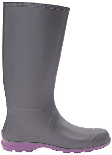 Kamik Donna Olivia Rain Boot Charcoal Purple