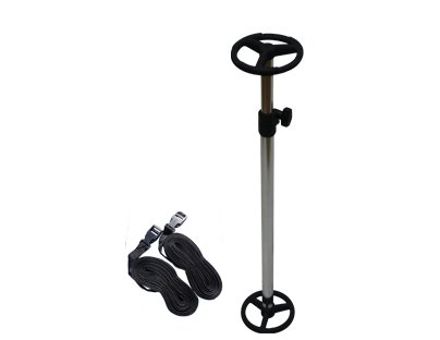 Telescopic Boat Cover SUPPORT POLE with Adjustable Webbing Straps - Fishing Speed (Telescoping Cover Support Pole)