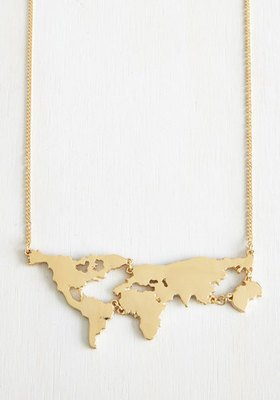 Amazon.com: World Map Necklace,Custom Map Necklace,Country