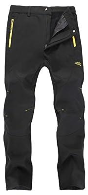 Singbring Outdoor Windproof Hiking Pants Waterproof Ski Pants For Men Women