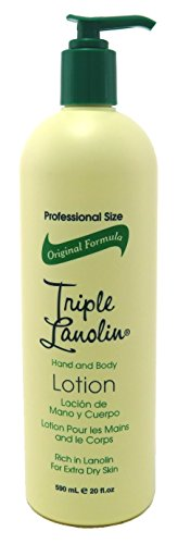 Vienna Triple Lanolin 20oz Hand & Body Lotion Pump