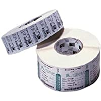 Zebra Label Paper 3.5 x 1in Direct Thermal Zebra Z-Select 4000D 3 in core - 3.50 Width x 1 Length - 6 / Carton - 5120/Roll - 3 Core - Paper - Direct Thermal - White