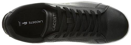 Sneaker Lacoste Mens Carnaby Evo Fashion In Rilievo Nero