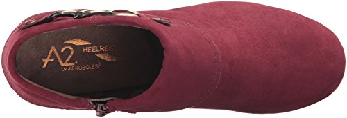 Boot Fabric Aerosoles Wine Women's First Role Ankle qZRxw