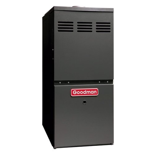 Goodman 80 000 BTU 80% AFUE Upflow/Horizontal Gas Furnace model GMH80803BN (Furnace Goodman Humidifier)