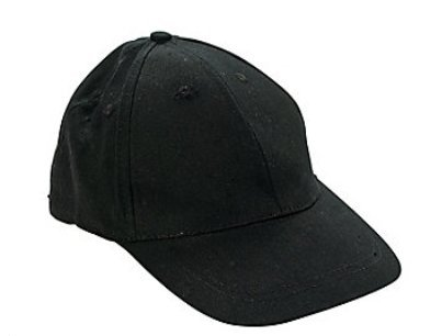 - BLACK BASEBALL CAPS (1 DOZEN) - BULK