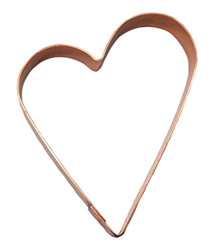 Lopsided Heart - Small Folk Heart Heart Cookie Cutter