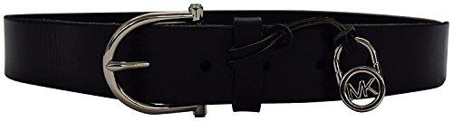 Michael Kors Women's Belt Black X Large (Medallion Black Belt)