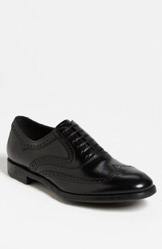 Salvatore Ferragamo Lace Up Oxfords (Salvatore Ferragamo Men's 'Sinesio' Calfskin Leather Lace-up Shoe, Black (Nero) 0558992 (10 D(M) US))