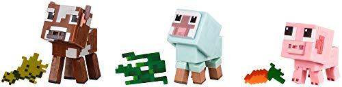 Minecraft Comic Mode Baby Animals 3-Pack (Minecraft Toys Figures)