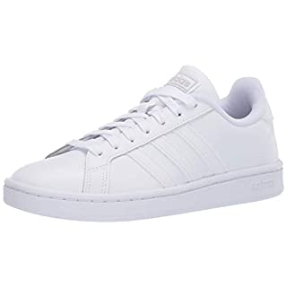 adidas mens Grand Court Sneaker, White/Multi/White, 5 US