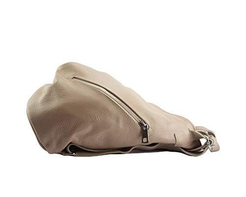 Cuir À Leather Florence Clapton Dos En Finement Rose Market Grainé 9200 Sac Souple Sacs t0wHw